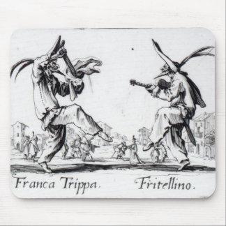 Balli de Sfessania, c.1622 Mouse Mat