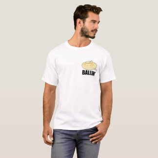 Ballin' Ball Python Pocket T-Shirt