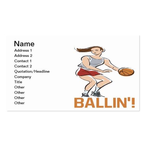 Ballin Business Cards
