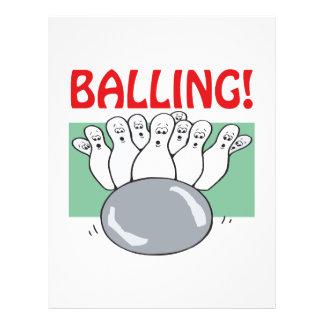 Balling Flyer Design