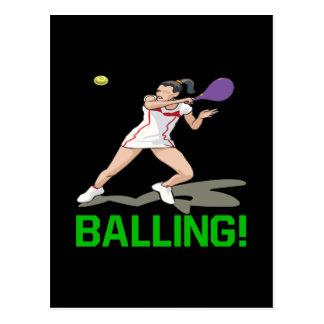 Balling Postcard