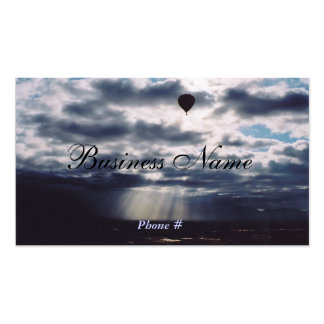 Ballon at Dawn Pack Of Standard Business Cards