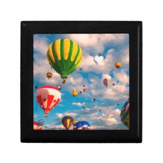 Ballon Ride 2 Small Square Gift Box
