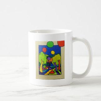 Ballons of Spring Basic White Mug