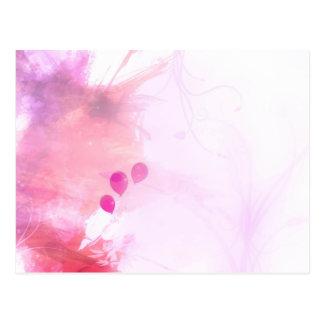ballons postcard