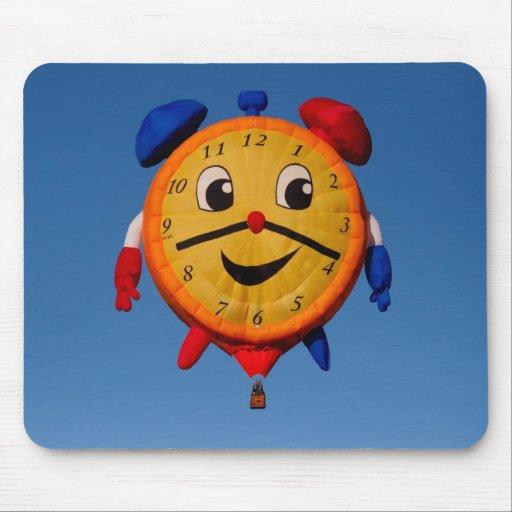 Ballons Shape Clock 6268 Mousepad