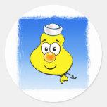Balloon 08D Round Sticker