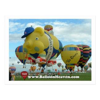 Balloon ABQ-419 Postcard