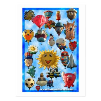 Balloon ABQ-424 Postcard