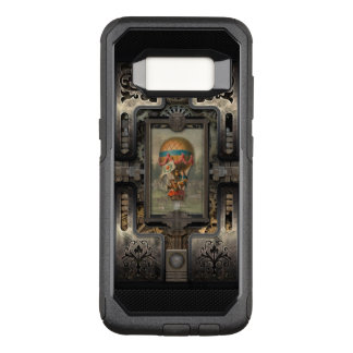 Balloon.Age of Steampunk. OtterBox Commuter Samsung Galaxy S8 Case