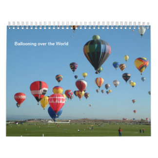 Balloon all year round calendars