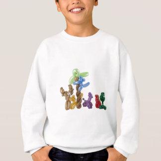 balloon animal group sweatshirt