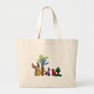 balloon animal group canvas bag