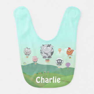 Balloon Animals Bib