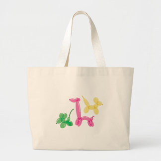 Balloon Animals Large Tote Bag