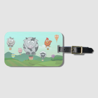 Balloon Animals Luggage Tag