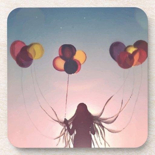 Balloon Bliss Coasters