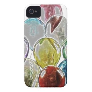 Balloon Bouquet Fractal iPhone 4 Case-Mate Cases