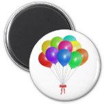 Balloon Bouquet Refrigerator Magnet