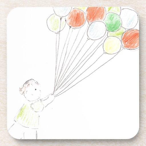 Balloon Boy Coasters
