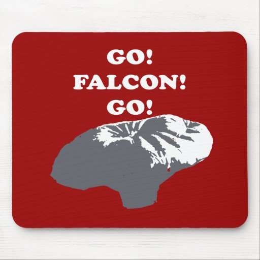 Balloon Boy - Go Falcon Go Mouse Pad