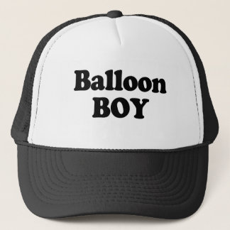 Balloon Boy Instant Costume Trucker Hat