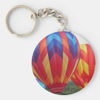 Balloon brightly colored keychains