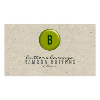 Balloon Button Speckle Pack Of Standard Business Cards