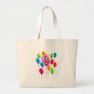Balloon Cartoon Character Large Tote Bag