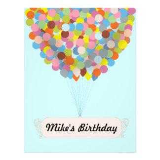 Balloon Celebration Flyer