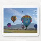 Balloon cluster mouse mat