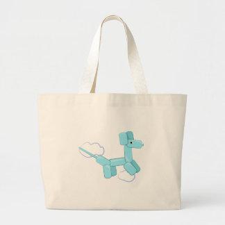 Balloon Dog Tote Bags