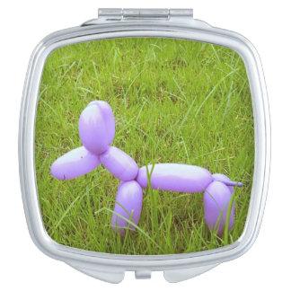 Balloon Dog Compact Mirror
