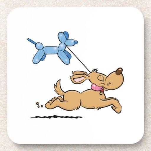 Balloon Dog Drink Coaster