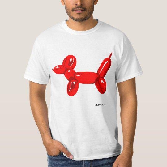 Balloon Dog -WHite T-shirt