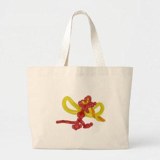 Balloon dragon tote bag