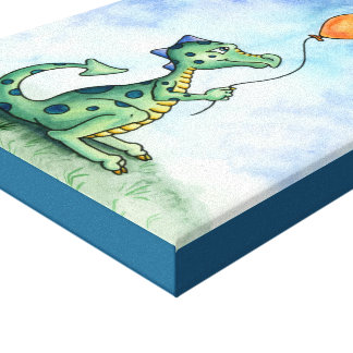 Balloon Dragon canvas print
