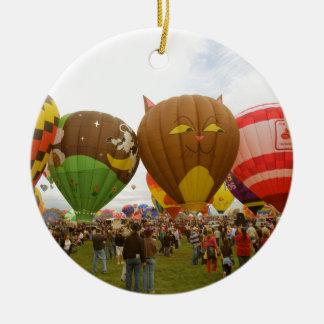 Balloon Fest Christmas Ornament