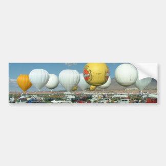Balloon Fiesta Gass Ballooning Car Bumper Sticker