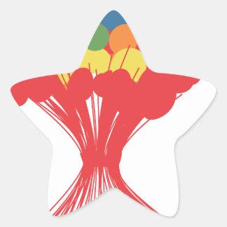 Balloon fire.png star sticker