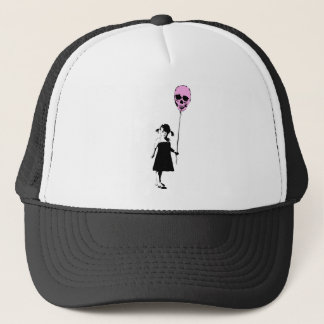 Balloon Girl Trucker Hat