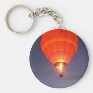 Balloon Glow Basic Round Button Key Ring