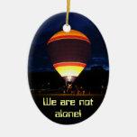 Balloon glow, pendant christmas ornaments