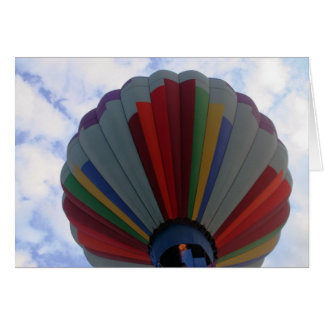 Balloon, Going up! Greeting Card