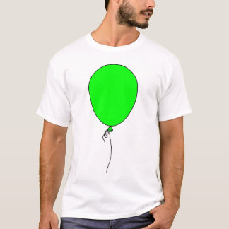Balloon (Green) T-Shirt