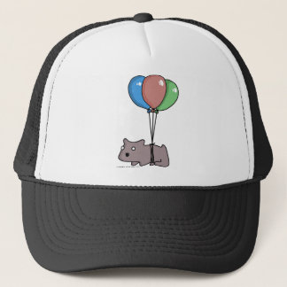 Balloon Hamster Frank by Panel-O-Matic Trucker Hat