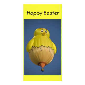 Balloon Happy Easter Personalized Photo Card