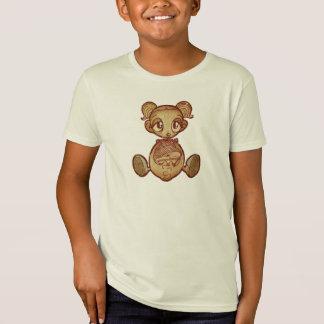 Balloon head girl - Kids T-shirt