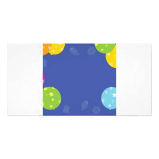 Balloon Items With Faded Ice Cream Card