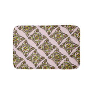 Balloon mandala bath mat cute bohemian pattern bath mats